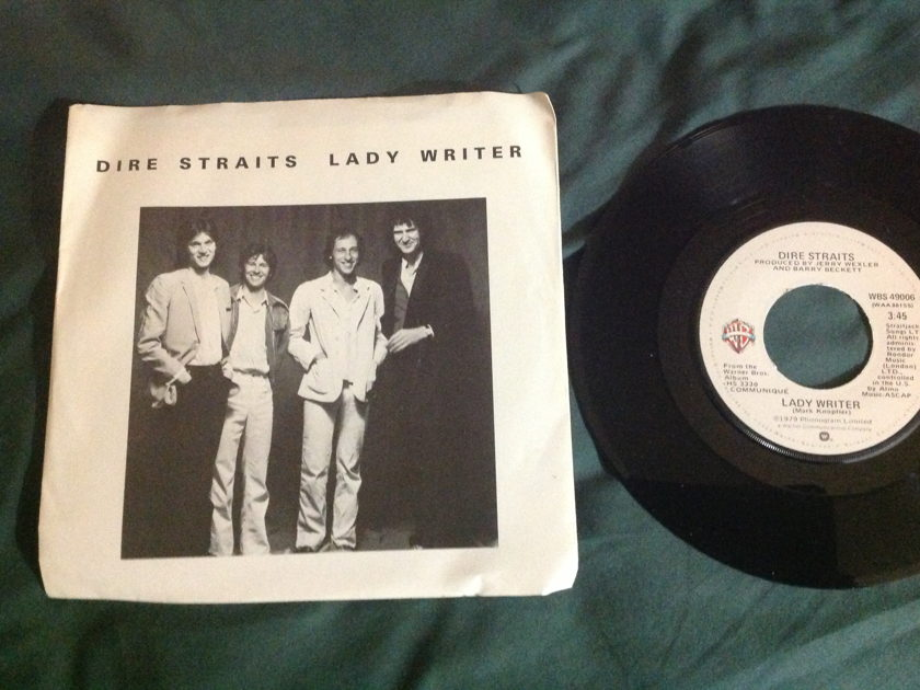 Dire Straits - Lady Writer 45 With Sleeve
