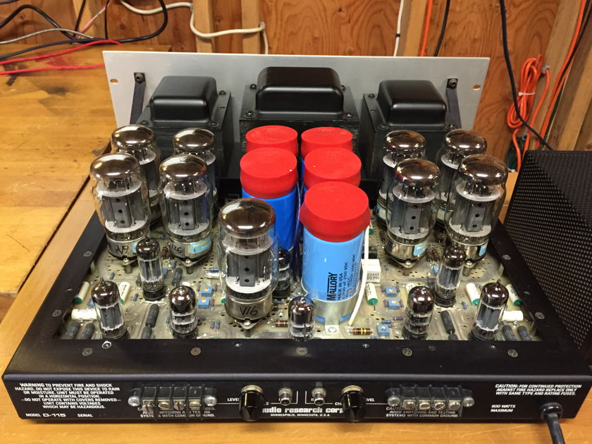 Audio Research D-115 MKII Vacuum Tube Amplifier