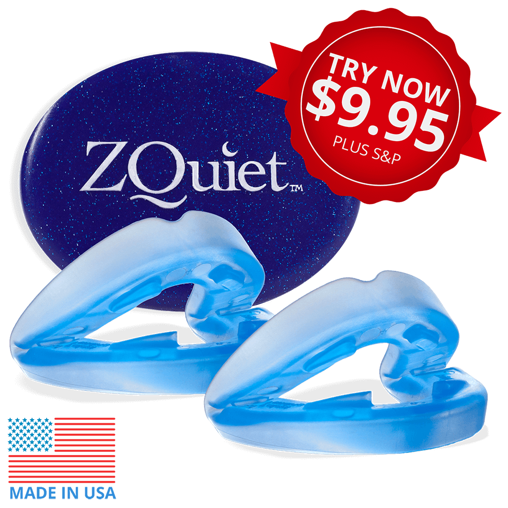 ZQuiet Anti-snoring Mouthpiece with try now offer