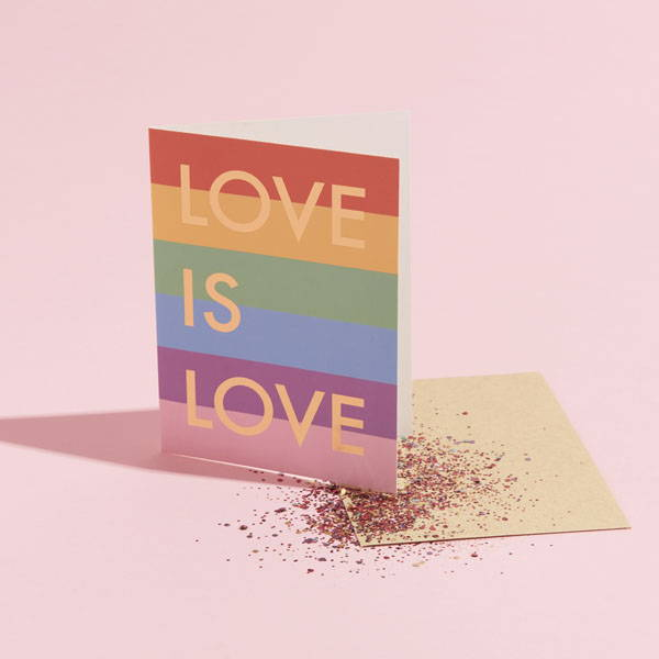 #rainbow #pride #eco #greetingscard