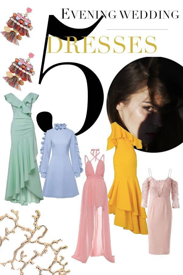 Dresses to wear to an evening wedding