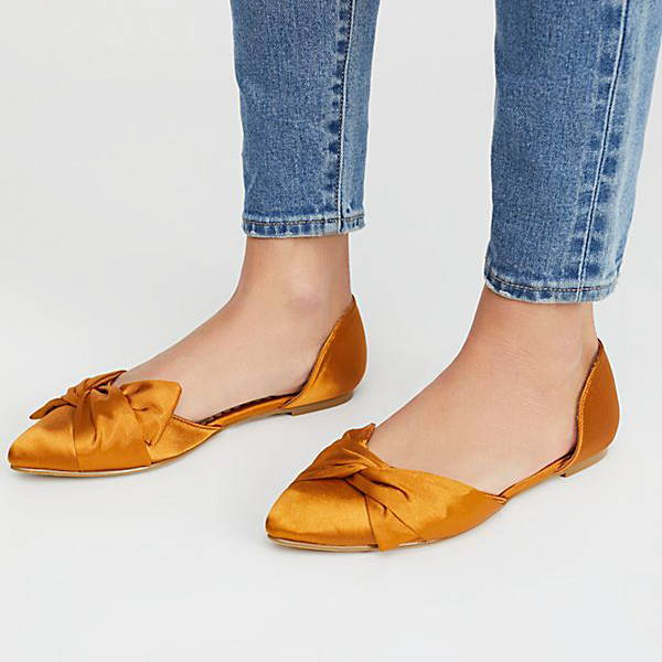 flats are a must have shoe for every woman's shoe closet