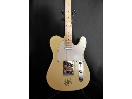 Signed Billy Gibbons Fender Squire Tele Guitar