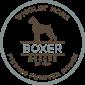 Wigglin Home Boxer rescue logo