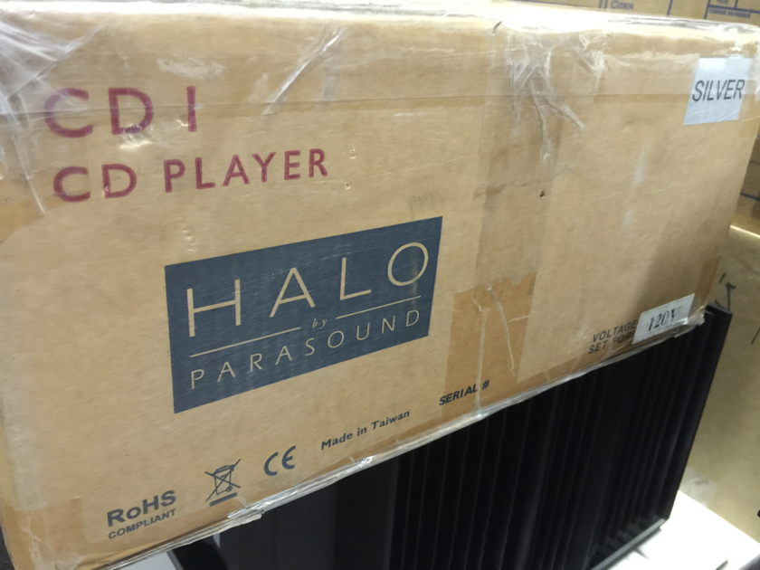 Parasound Halo CD 1 Reference CD Player - LIKE NEW!