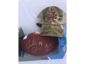 Jake Coker Autographed Alabama football and hat