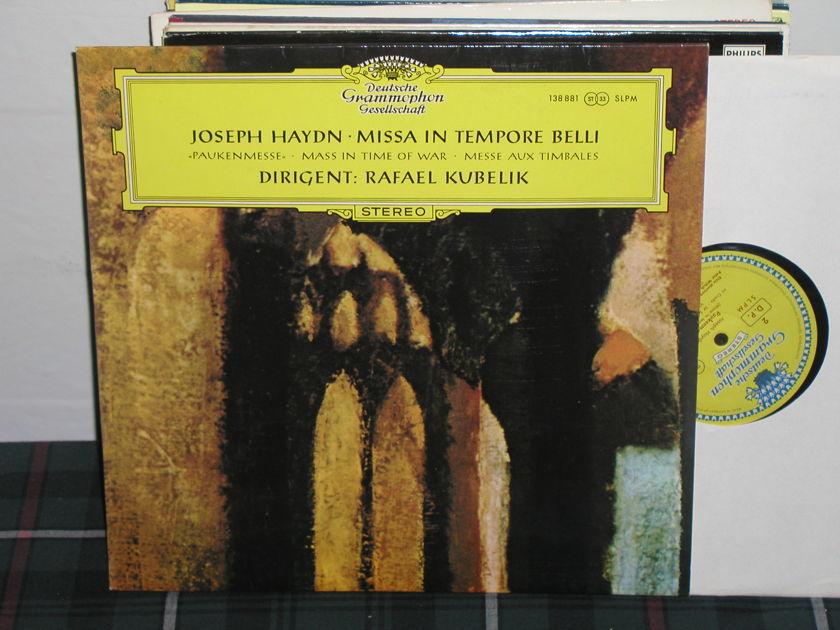 Kubelik/SOdBR - Haydn Missa In Tempore Belli DGG TULIP 138 881