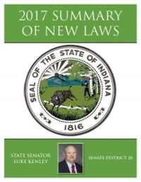 2017 Summary of New Laws - Sen. Kenley
