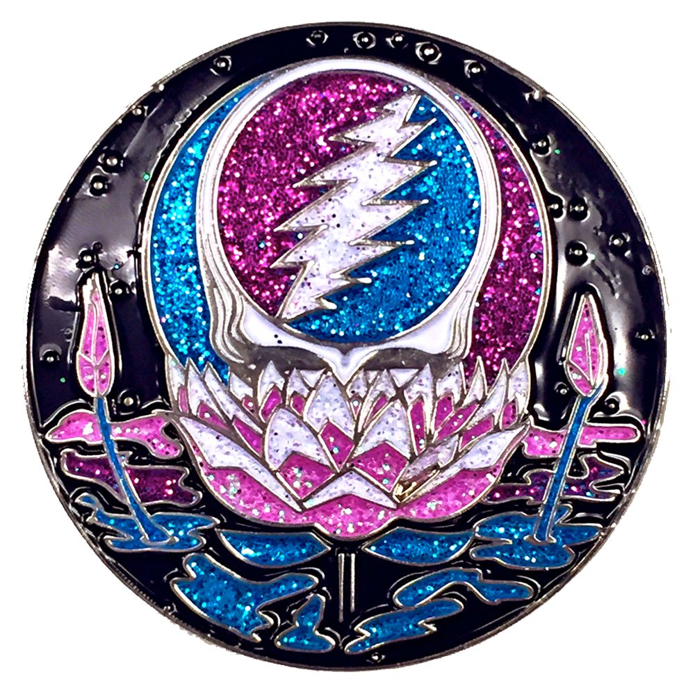 Lotus Steal Your Face Gorgeous Limited Edition Pin
