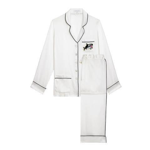 Olivia von halle coco cody pajama set