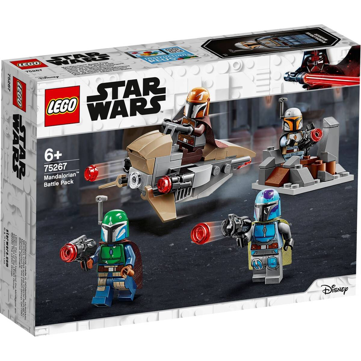 LEGO Star Wars Mandalorian battle