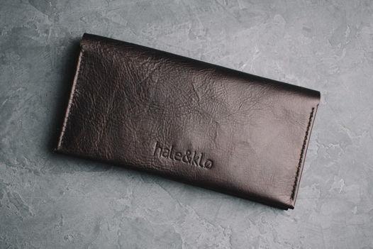Кожаный портмоне stor ( Лонг, кошелек)