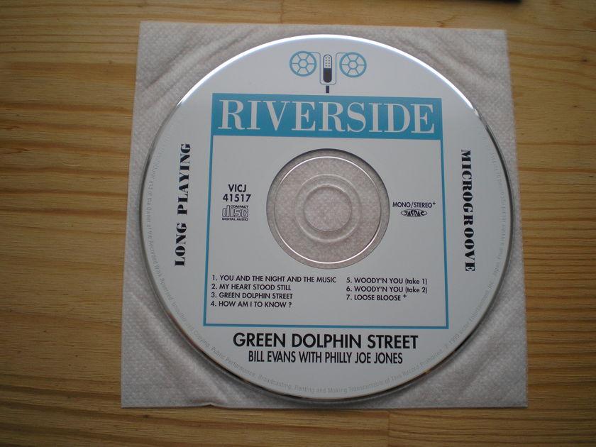 Bill Evans - Green Dolphin Street Japan mini-lp