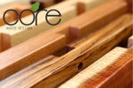 """Core Audio Designs Hardwood legs used as a """"Spice-rack"""" for tuning. Medium to High Density"""