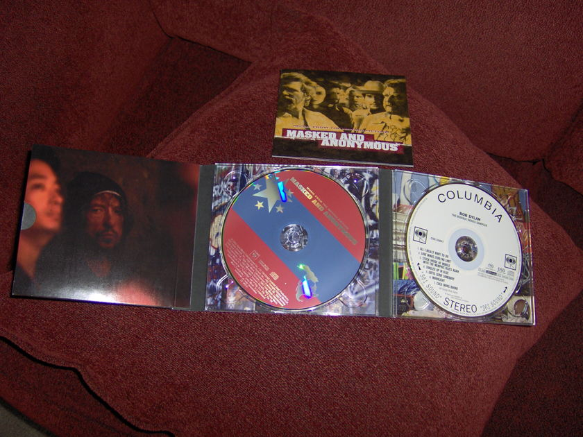 Bob Dylan - Masked and Anonymous soundtrack CD plus SACD reissue series sampler free ship