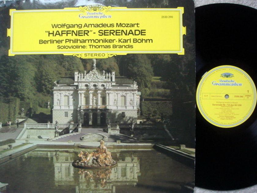 DG / BOHM-BPO, - Mozart Haffner Serenade, MINT!