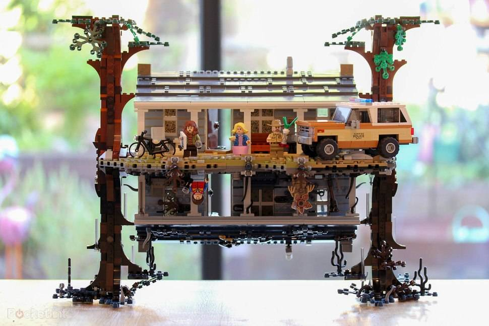 LEGO Stranger Things set