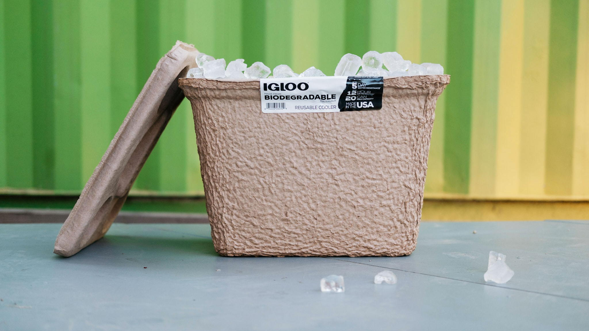 Igloo Says Goodbye To Styrofoam Coolers, Releases Biodegradable Update logo
