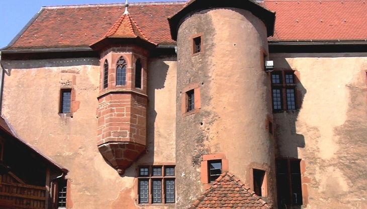 burg ronneburg innenhof