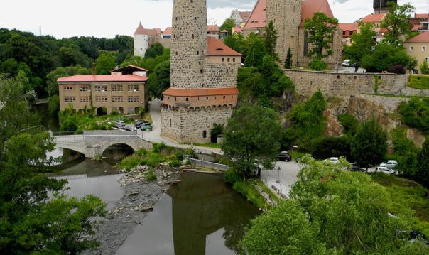 Поездка на автомобиле в Баутцен с экскурсией по старому городу.