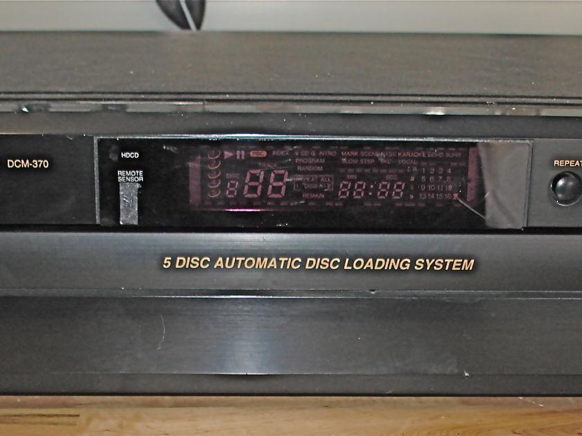 Denon DCM-370/270 Stereo CD Auto Changer