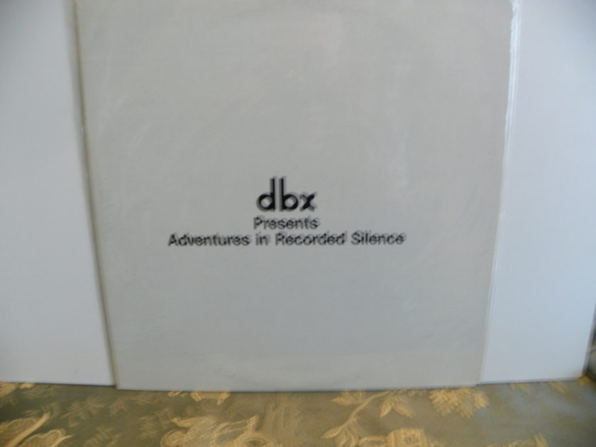 dbx - PRESENTS ADVENTURES IN RECORDED SILENCE   dbx ENCODED