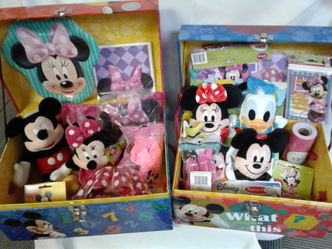 Mickey & Minnie Mouse Birthday Party Trunk
