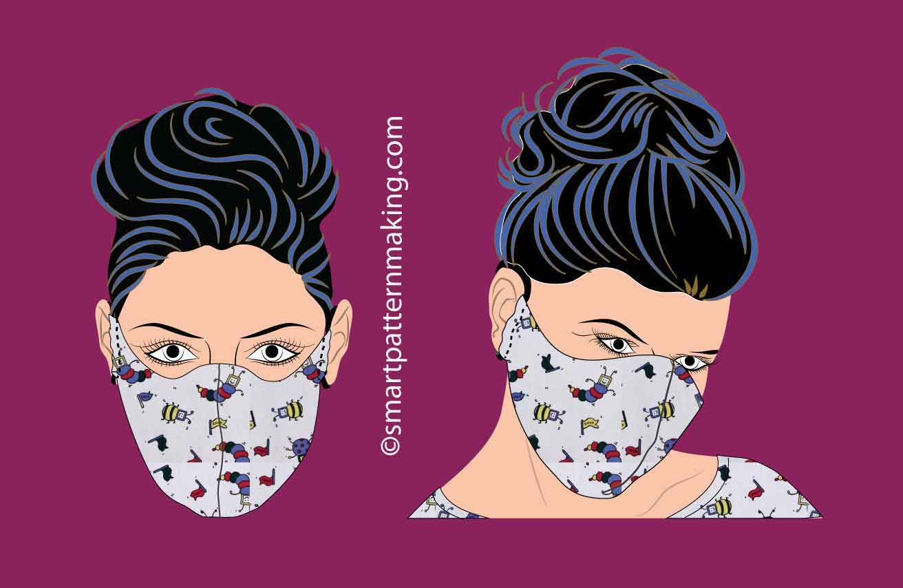 Free PDF Mask Pattern