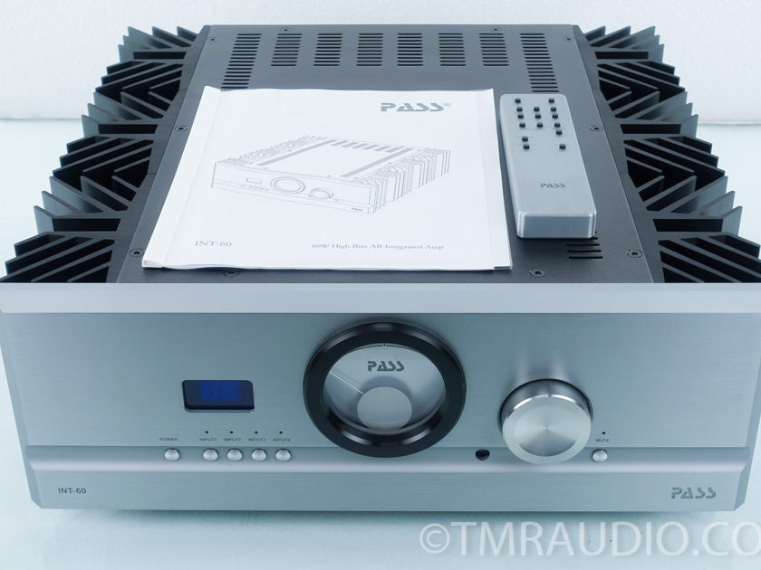 Pass Labs INT 60 Integrated Amplifier (8536)