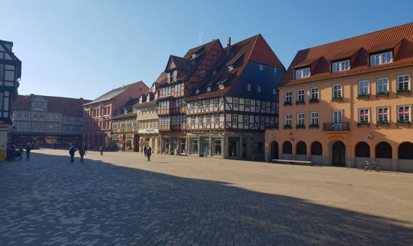 Экскурсия в Кведлинбург из Берлина