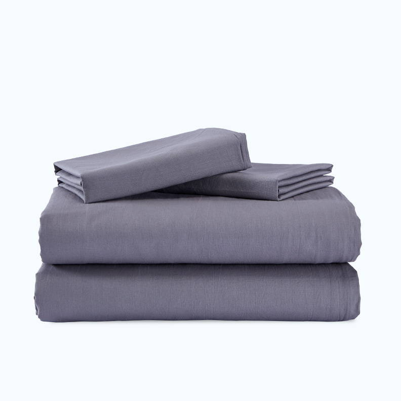 sleep zone bedding website store products collections cottonnest solid washed cotton duvet cover set smooth grey gray