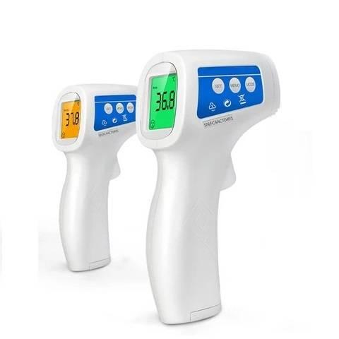 Thermomètre Frontal Infrarouge, Thermometre Sans Contact, Thermometre Pour Bébés et Adultes