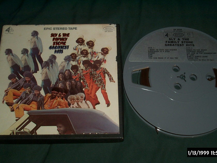 Sly & Family Stone - Greatest Hits Pre recorded Reel To Reel