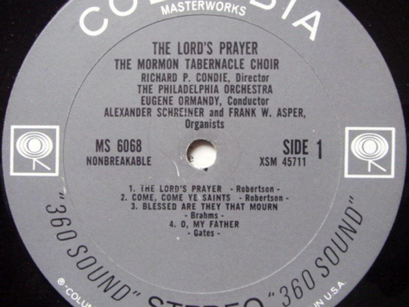 Columbia 2-EYE / EUGENE ORMANDY-Mormon Tabernacle Choir, - The Load's Player, MINT!