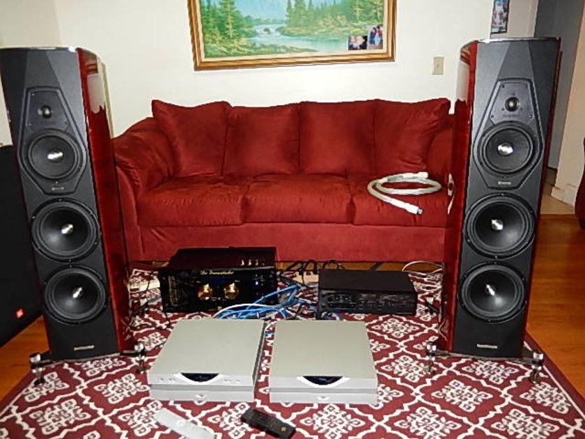 Sonus Faber Amati Futura Floor Standing Speakers (Local Pick Up only)