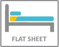 Flat sheets size