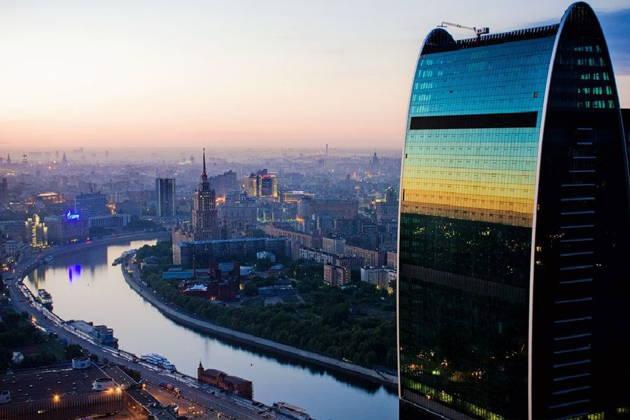 Экскурсия на смотровую площадку Москва-сити в башне