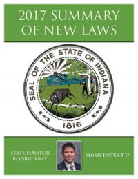 2017 Summary of New Laws - Sen. Bray
