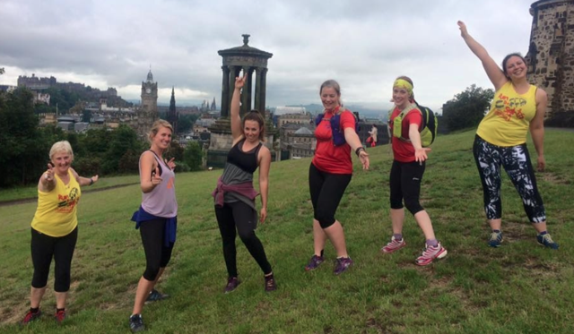Edinburgh Guided Running Tour