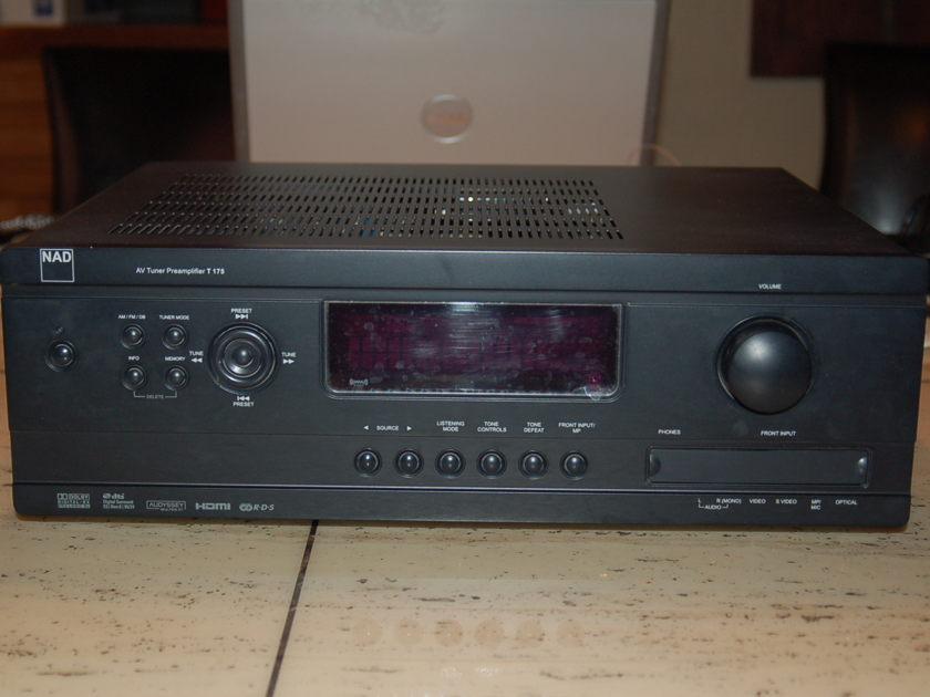 NAD T 175 A/V TUNER PREAMPLIFIER