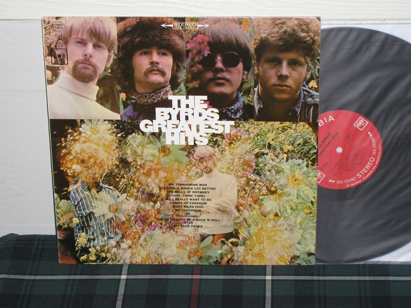 The Byrds - Greatest Hits (Pics) Columbia <360> labels from 60's