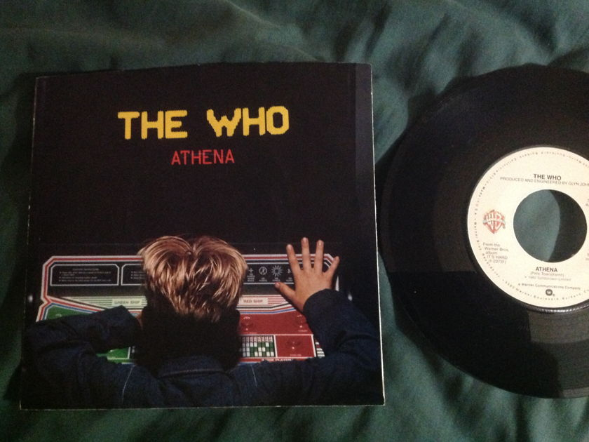 The Who - Athena 45 With Sleeve