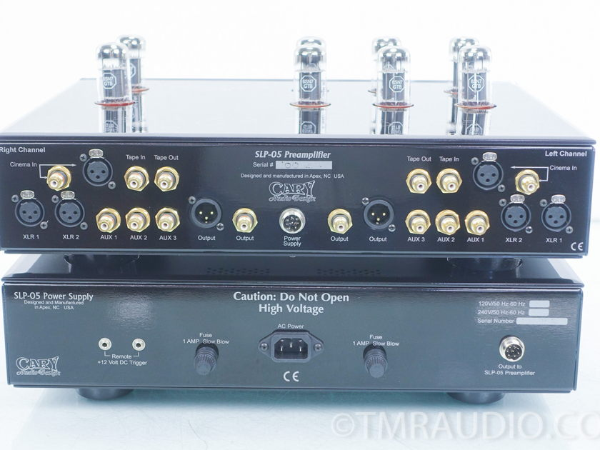 Cary SLP-05 Stereo Tube Preamplifier (7857)