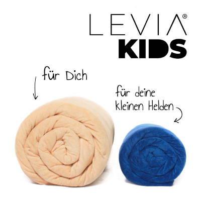 LEVIA Gewichtsdecke Kinder