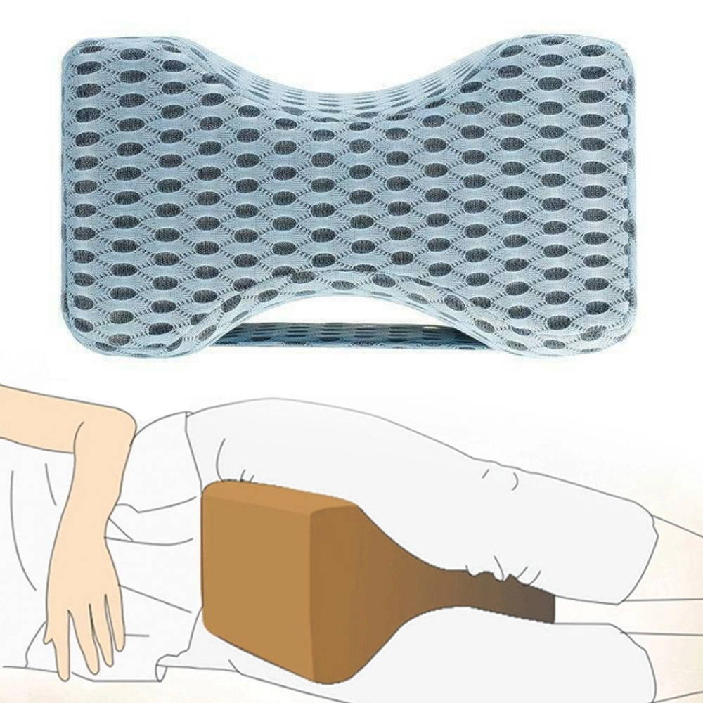 Forme ergonomique du coussin pour genoux