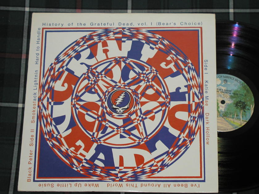 Grateful Dead - History of/ Bears Choice  WB BS2721 early '70's pressing