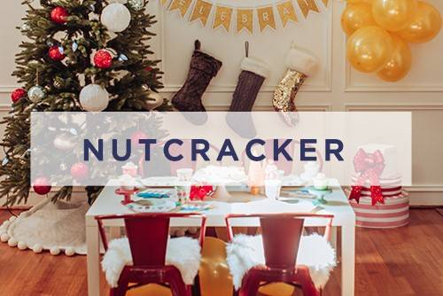 Nutcracker Christmas Party Supplies and Decorations