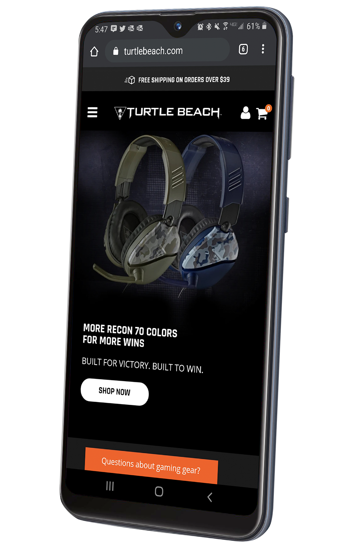 Get A Free Samsung Galaxy A10e Smartphone With Any Turtle Beach Headset Purchase!