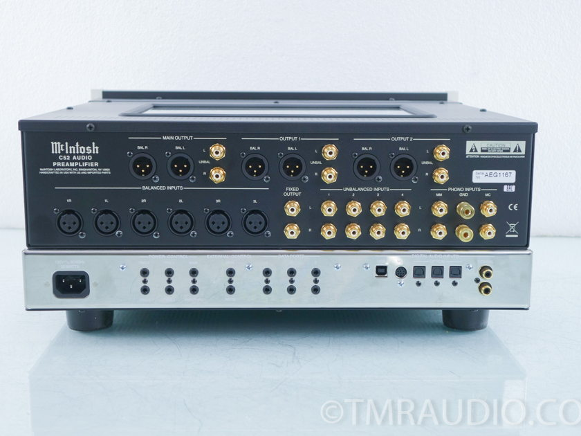McIntosh C52 Stereo Digital Preamplifer (9763)