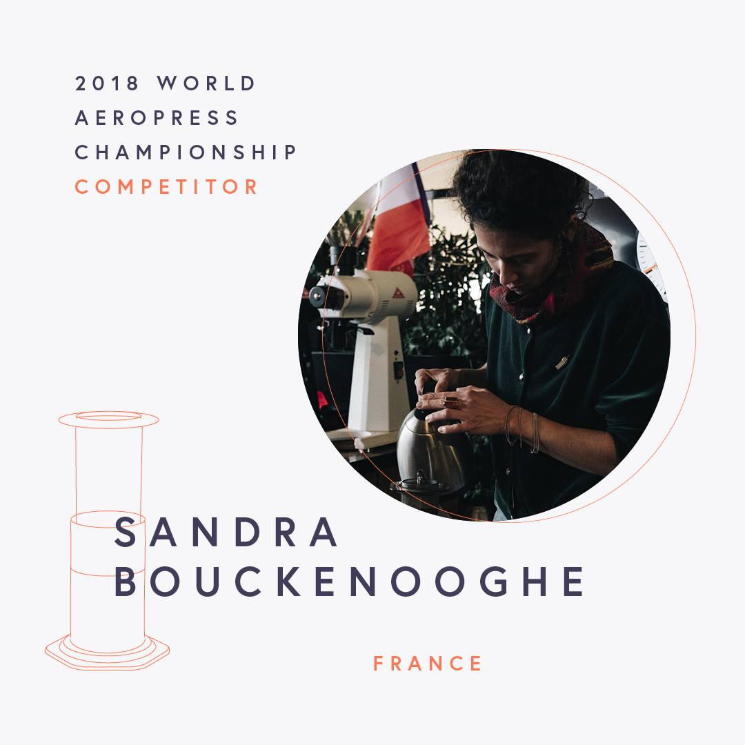 The World AeroPress Championships: Sandra Bouckenooghe